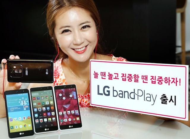 LG band Play punta su audio e fotocamera per compiacere il giovane pubblico