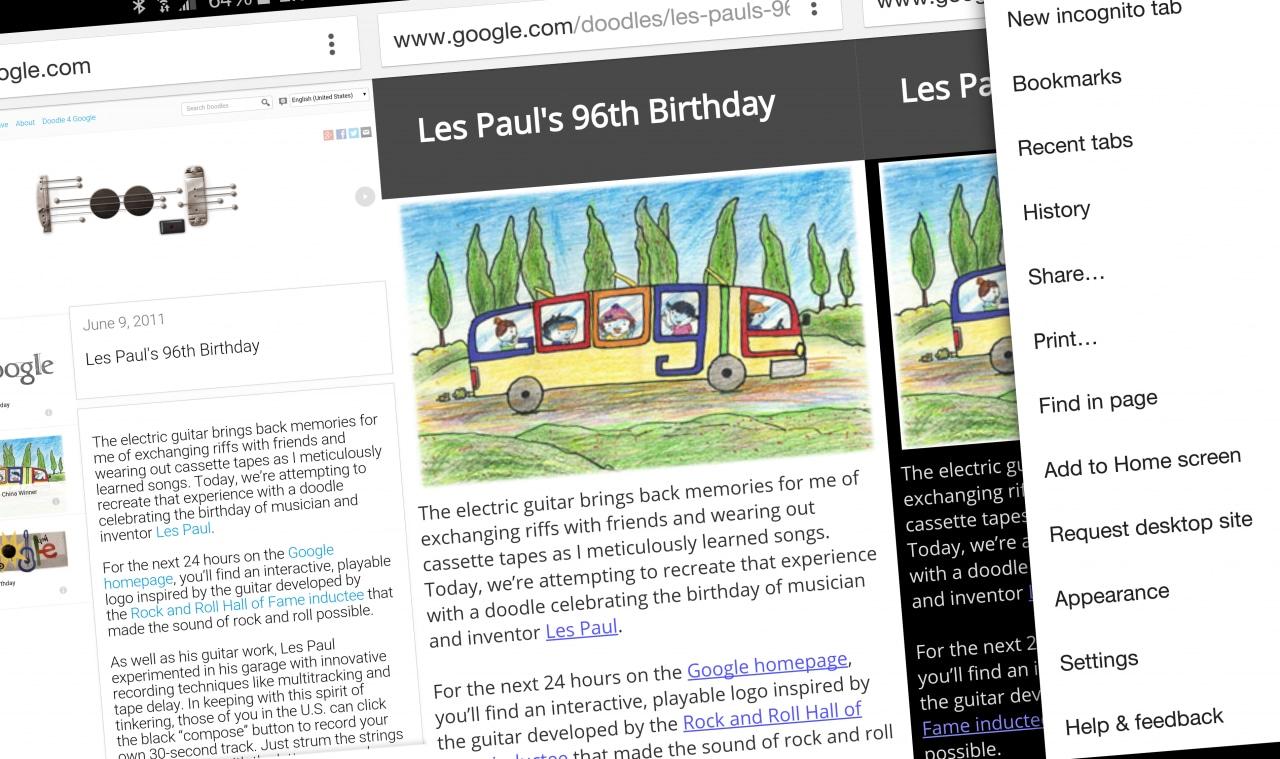 Modalità lettura Chrome Dev