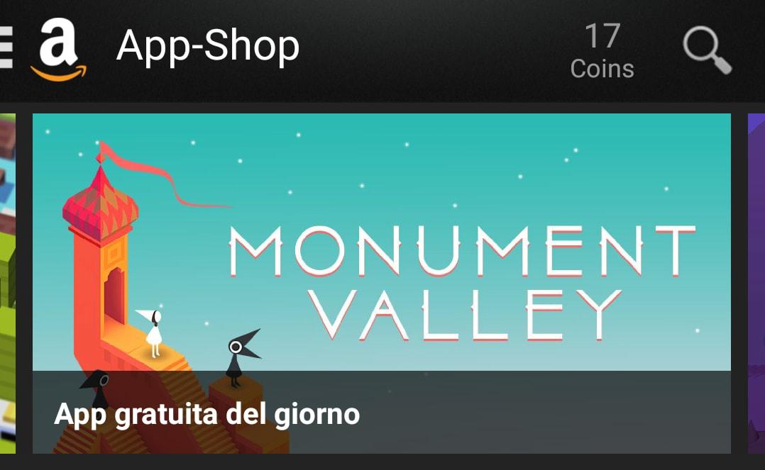 Monument Valley gratis Amazon