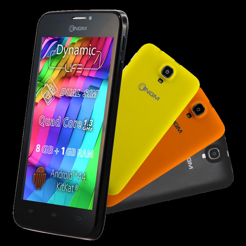 NGM Dynamic Life ufficiale: prezzo economico e 3 cover colorate incluse