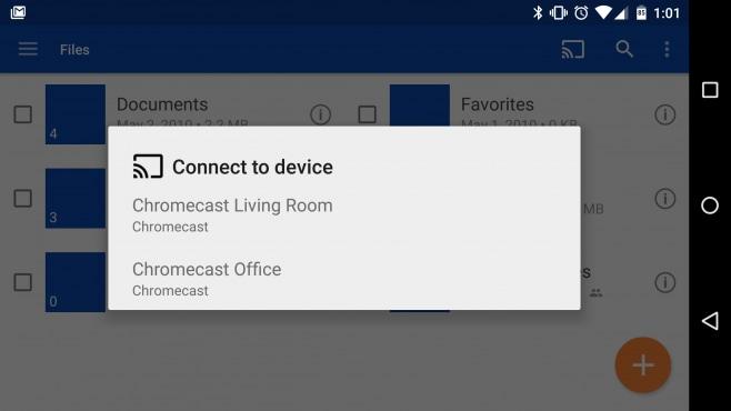 OneDrive Chromecast