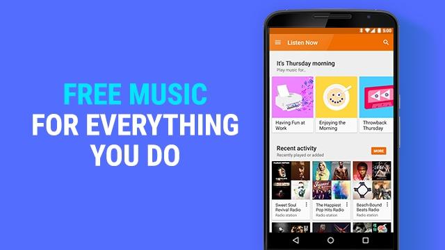 Google Play Music lancia le radio gratuite, ma con pubblicità (video)