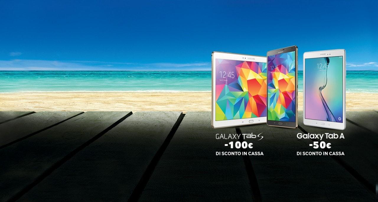 Promozione tablet Samsung Estate 2015