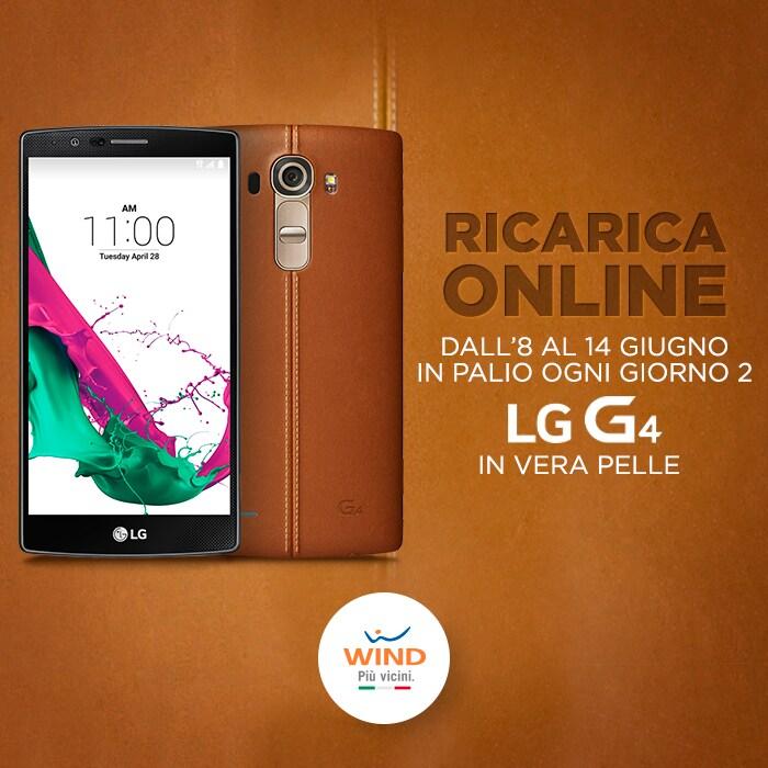 Ricarica online wind lg g4