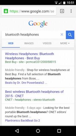 Ricerca Google header grande - 1