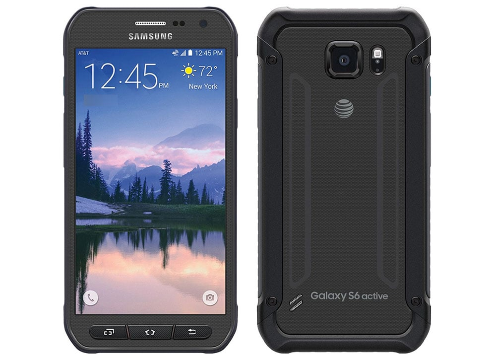 Samsung Galaxy S6 Active - nero