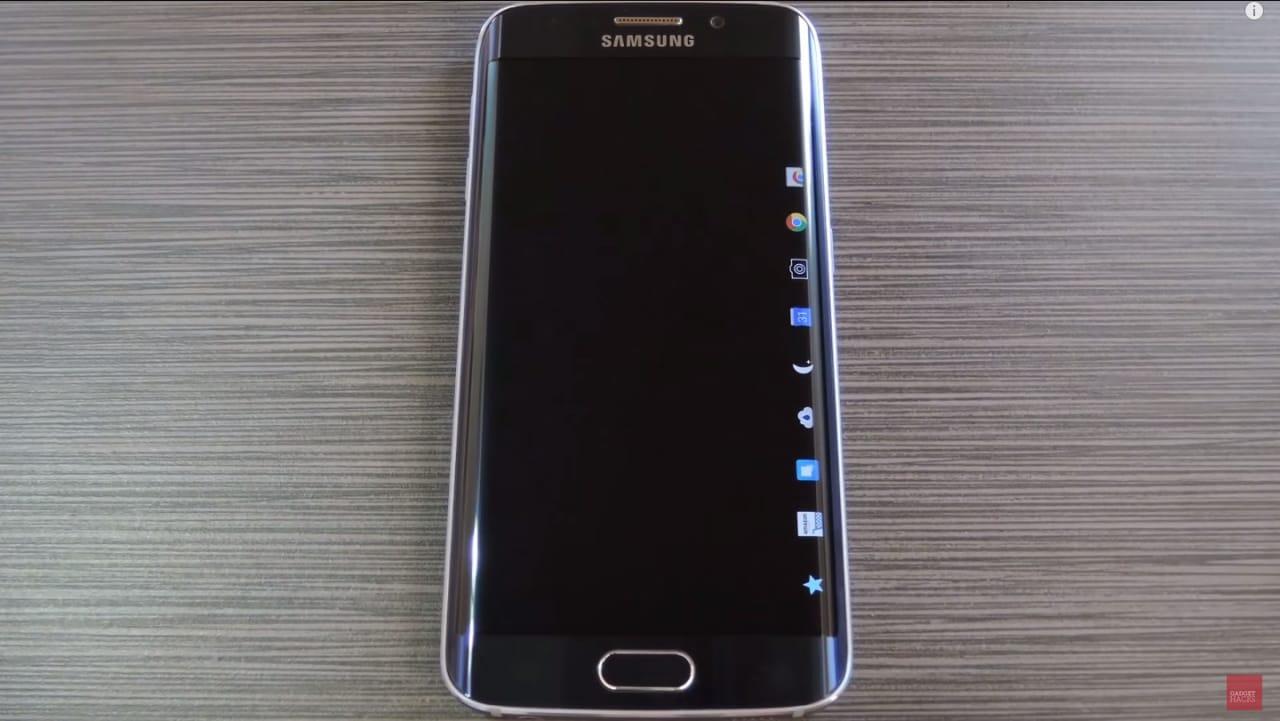 Samsung Galaxy S6 edge - app a schermo spento