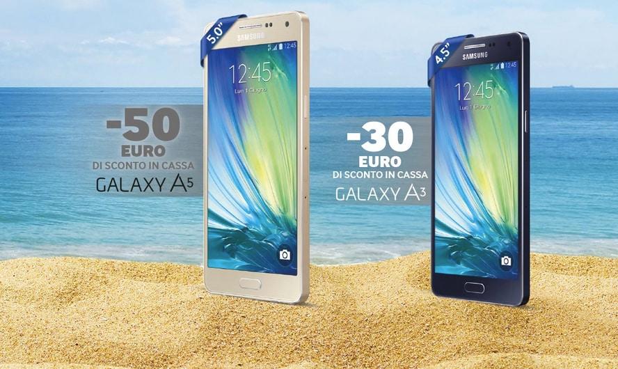 Sconti Galaxy A3 a5