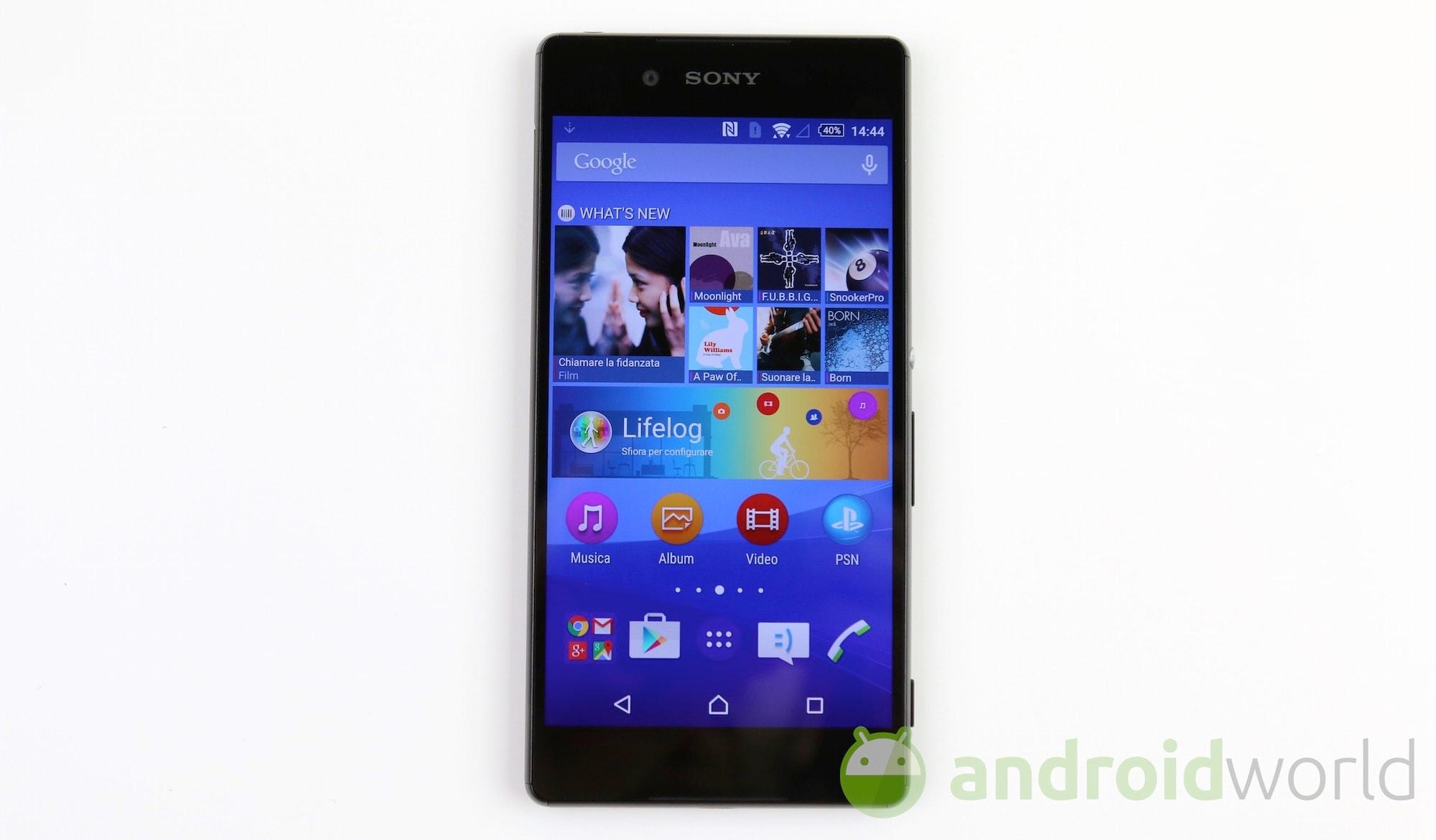 Sony Xperia Z3 Plus  – 1