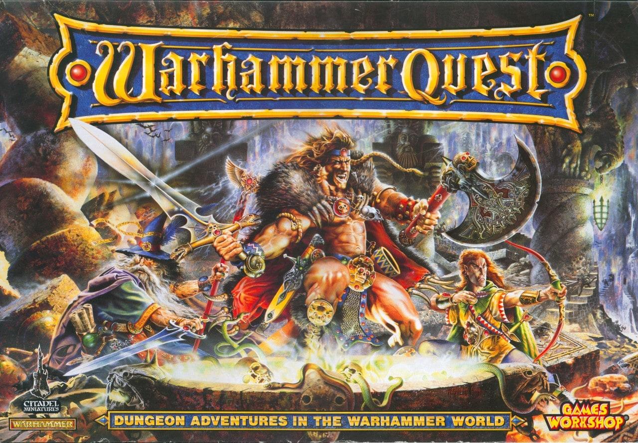 Warhammer Quest Copertina