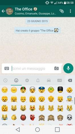 WhatsApp emoji multi-etniche - 1