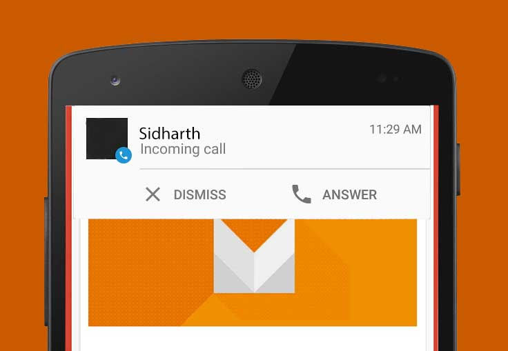 Android M - Notifiche HeadsUp final