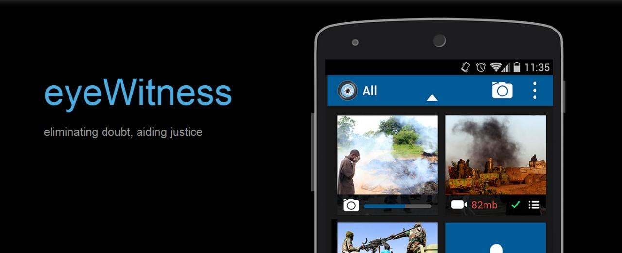 Gli smartphone per aiutare il rispetto dei diritti umani: eyeWitness to Atrocities (foto e video)