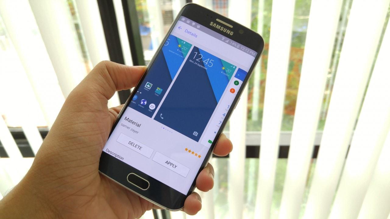 Il primo tema Material Design per Galaxy S6 è ufficiale (foto)