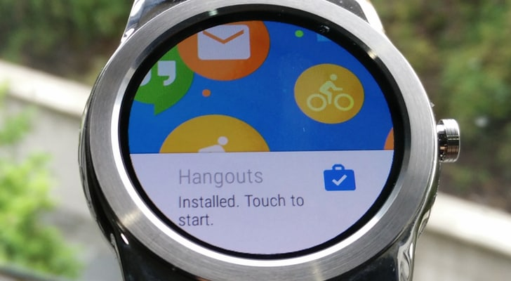 hangouts android wear