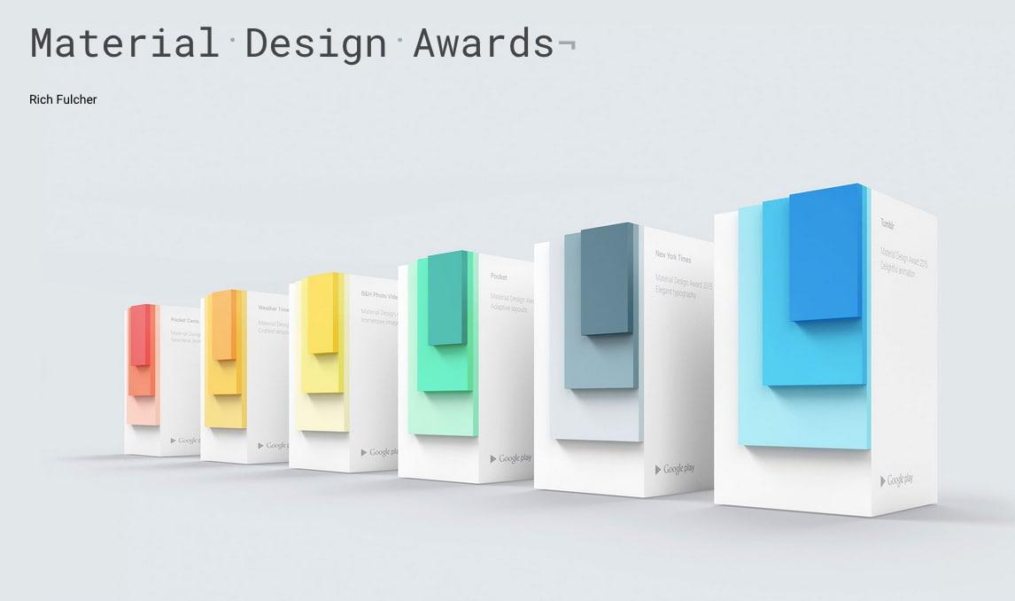 material design awards