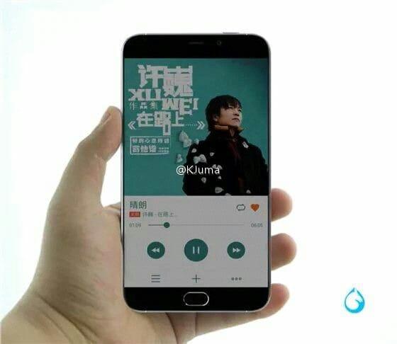 Meizu MX5 si mostra in una prima serie di immagini (foto)