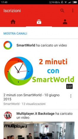 nuova UI YouTube