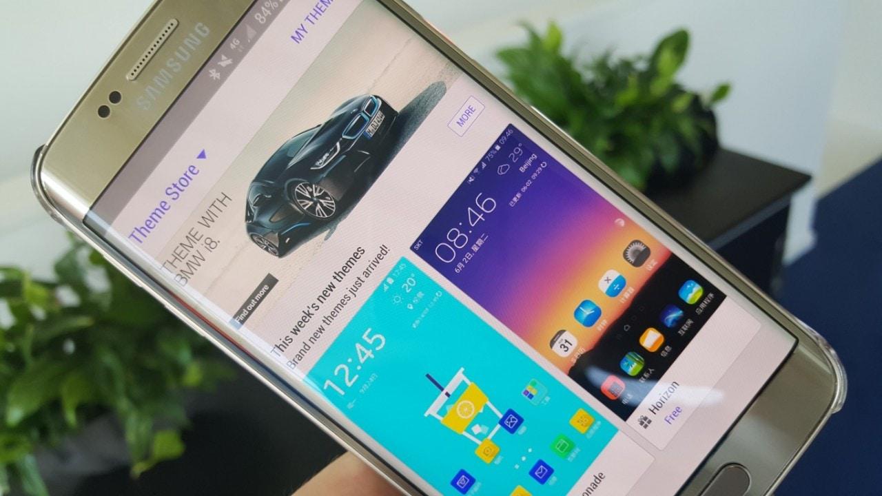 Samsung pubblica nove nuovi temi per Galaxy S6 (edge) (foto)