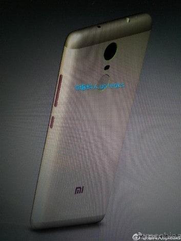 xiaomi smartphone lettore di impronte