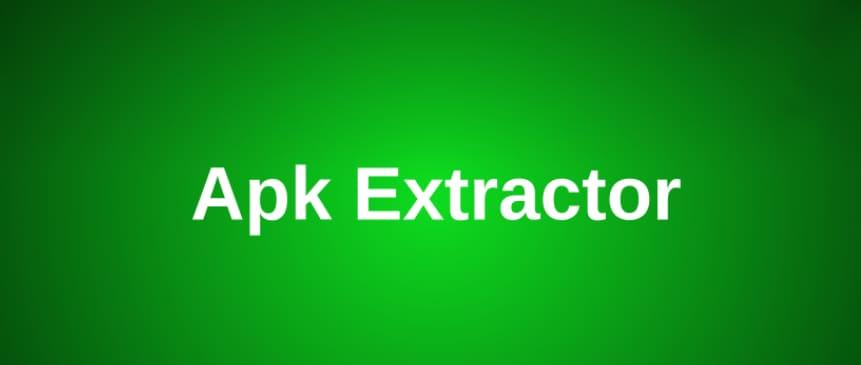 APK Extractor head