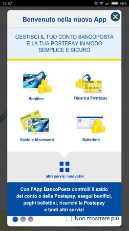 BancoPosta screenshot - 1