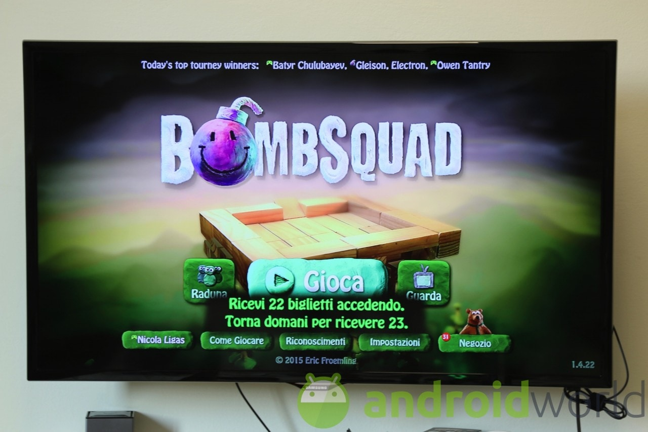Bombsquad Android TV