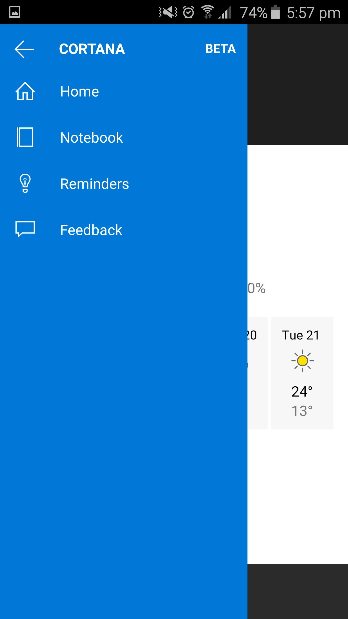 Provate Subito Cortana Per Android Con La Prima Versione