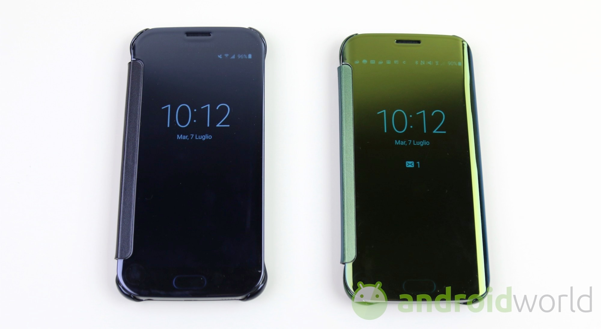 Cover Clear View Samsung  – 4