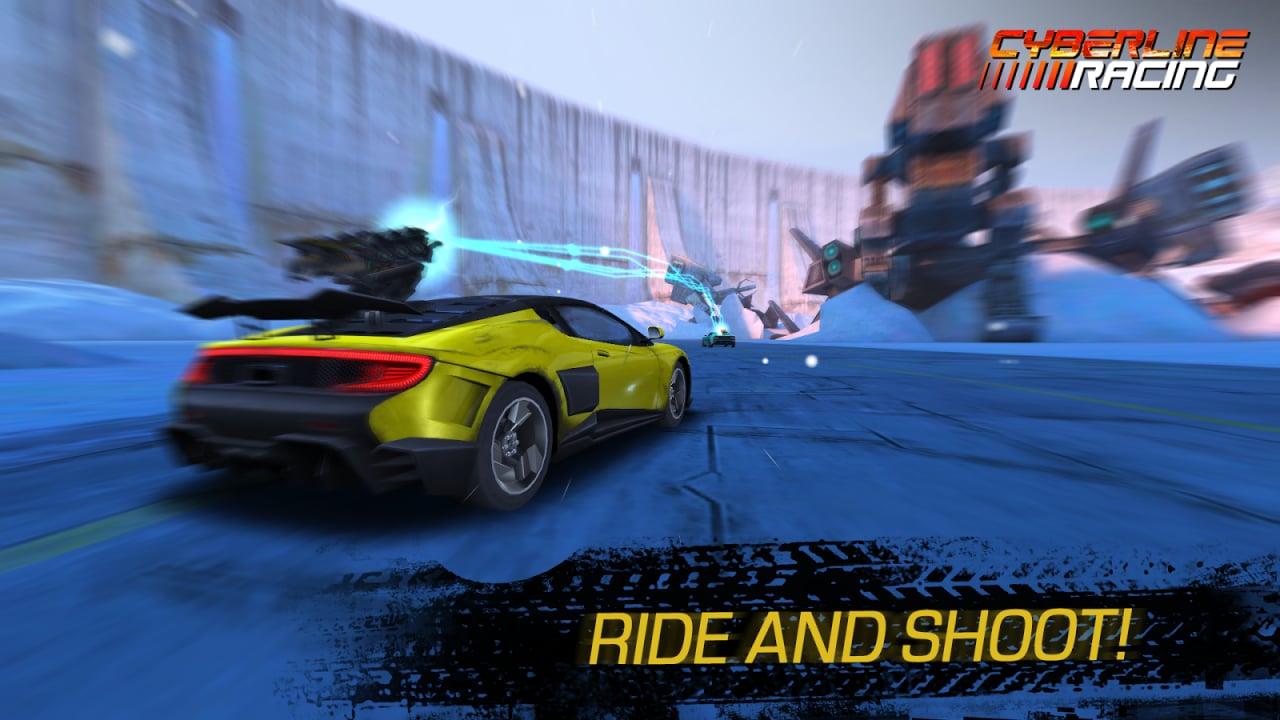 Cyberline Racing, un nuovo spettacolare gioco di corse (gratuito) per Android