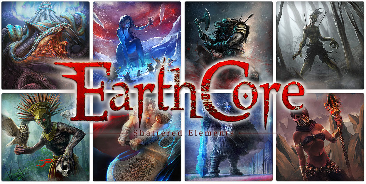 Il card game Earthcore: Shattered Elements sbarca su Android
