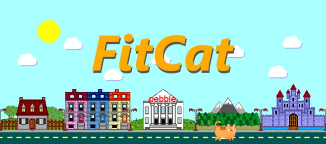 FitCat App Pebble Time