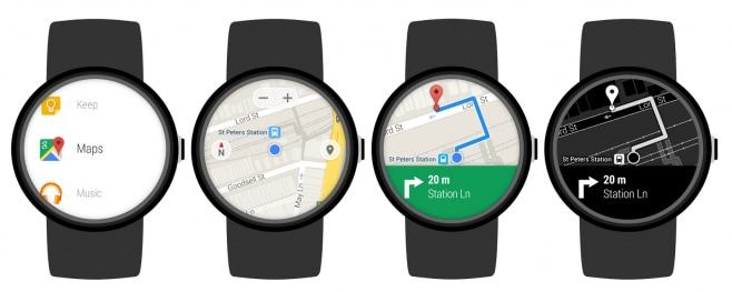 Google Maps on Android Wear