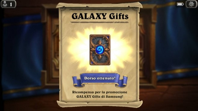 Hearthstone Galaxy Gifts - 1