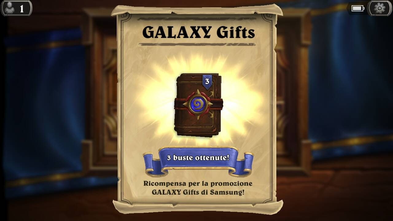Hearthstone Galaxy Gifts - 2