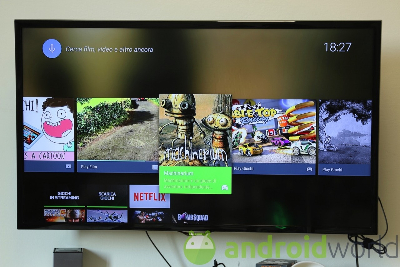 Home Android TV