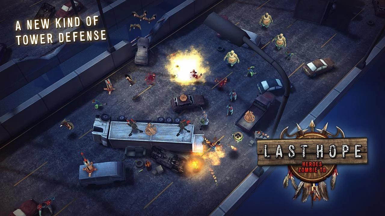 Last Hope - Heroes Zombie TD - 1
