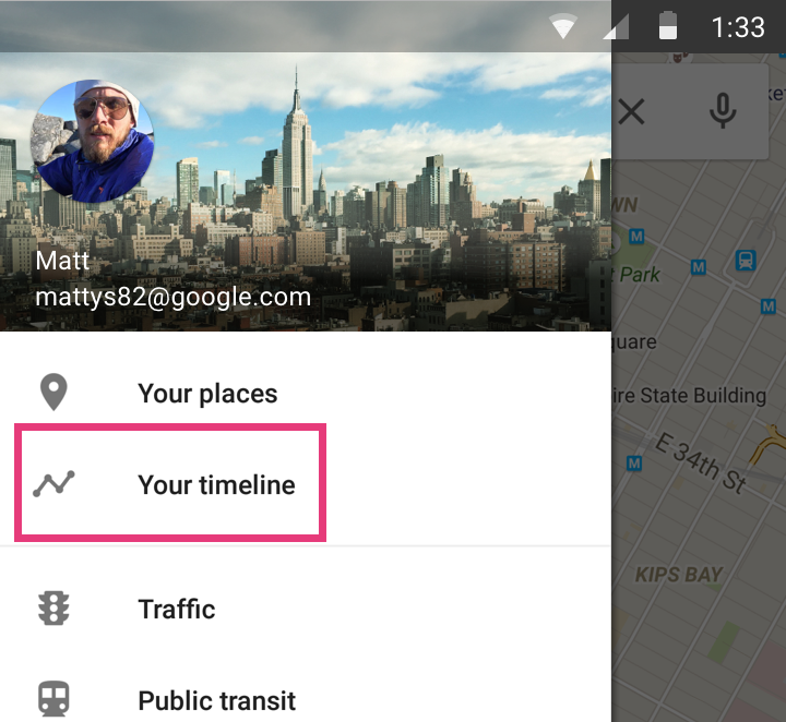 Google sa dove siete stati, e con Maps 9.12 lo saprete anche voi! (foto e download apk)