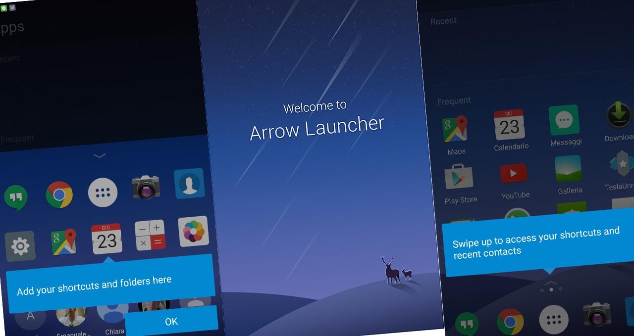 Microsoft aggiorna le sue app su Android: novità per Arrow Launcher e Next Lock Screen