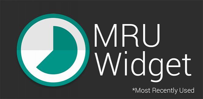L'elenco delle app più utilizzate sempre disponibile nella home grazie a MRU widget (foto)