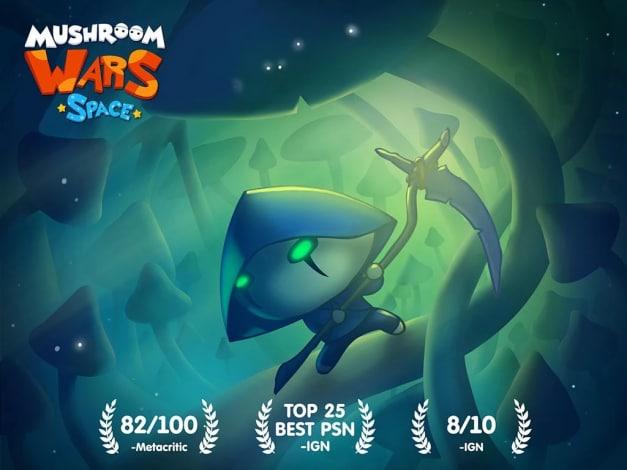 Mushroom Wars Space! - 1