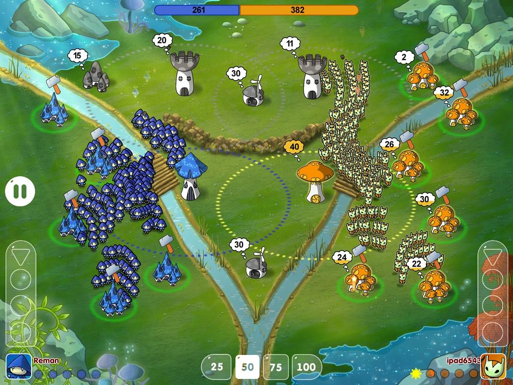 Mushroom Wars Space! - 6