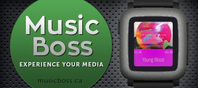 Music boss App Pebble Time