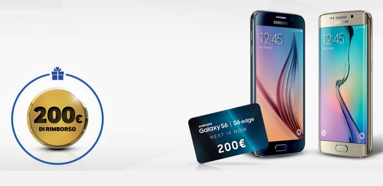 Con questi coupon risparmi 200€ sull'acquisto di un Galaxy S6