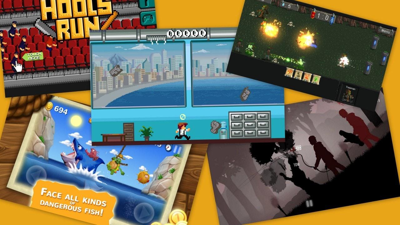 Una raccolta di 5 giochi per Android davvero particolari