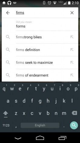 Ricerca Google - Forse cercavi