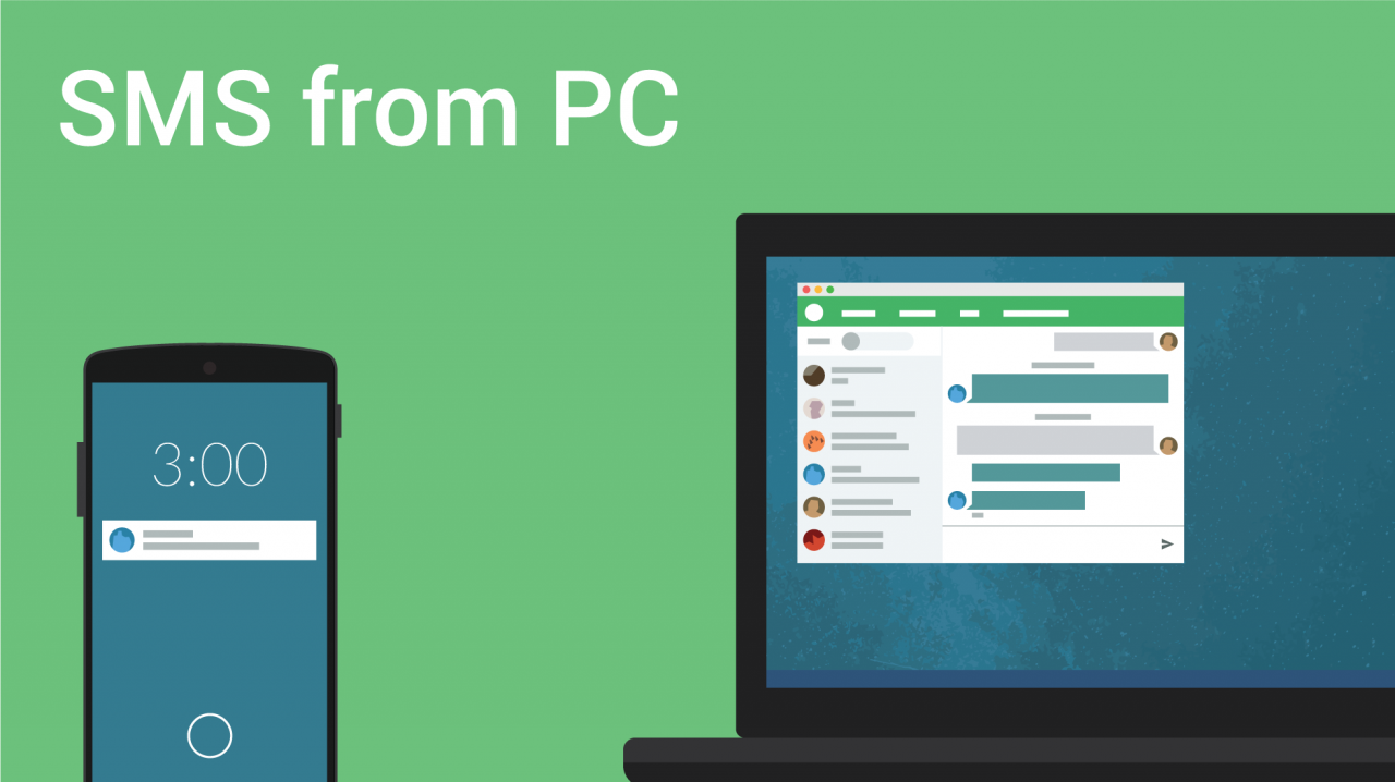 SMS PC Pushbullet