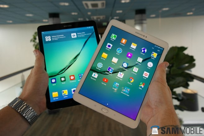 Samsung Galaxy Tab S2 hands-on - 7