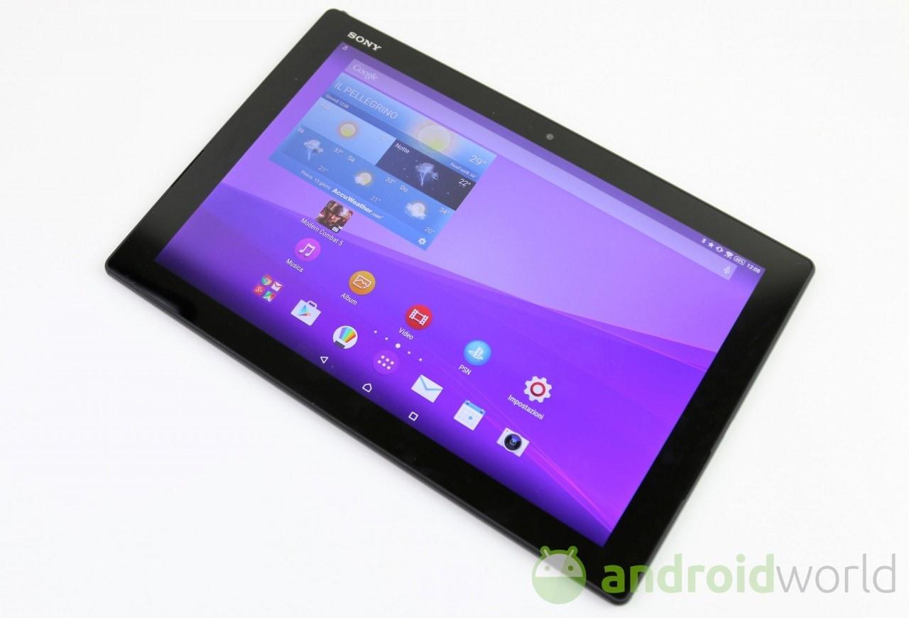 Sony Xperia Z4 Tablet  - 3