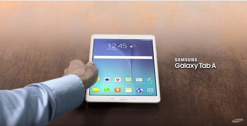 Sottile, elegante geniale: ecco il nuovo spot di Galaxy Tab A (video)